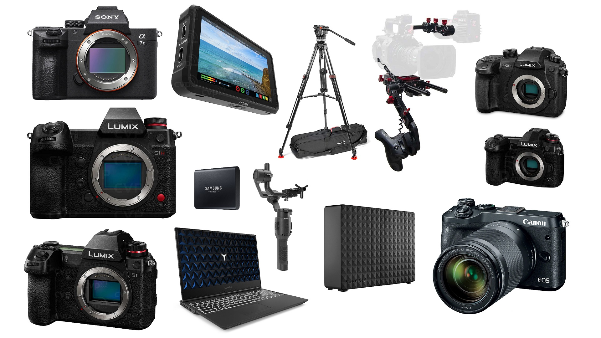 Las mejores ofertas de esta semana para cineastas - Sony a7 III, Canon M6, LUMIX S1, S1H, GH5 y G9, Trípode Sachtler y más