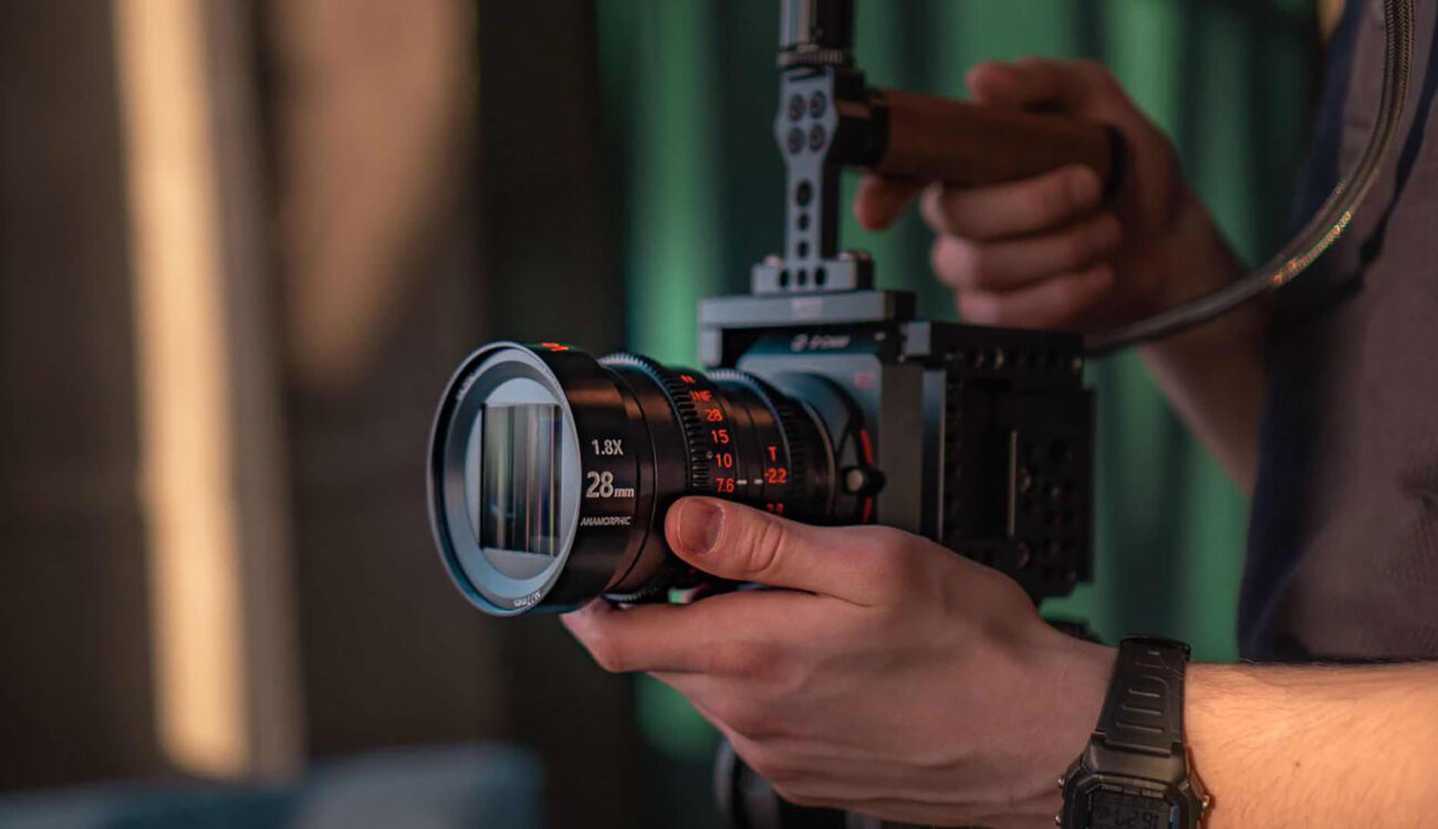 Vazen 28mm T2.2 1.8x Anamorphic Lens Launched