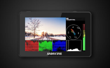 ANDYCINE A6 Plus V2 Monitor Announced and New Firmware Update