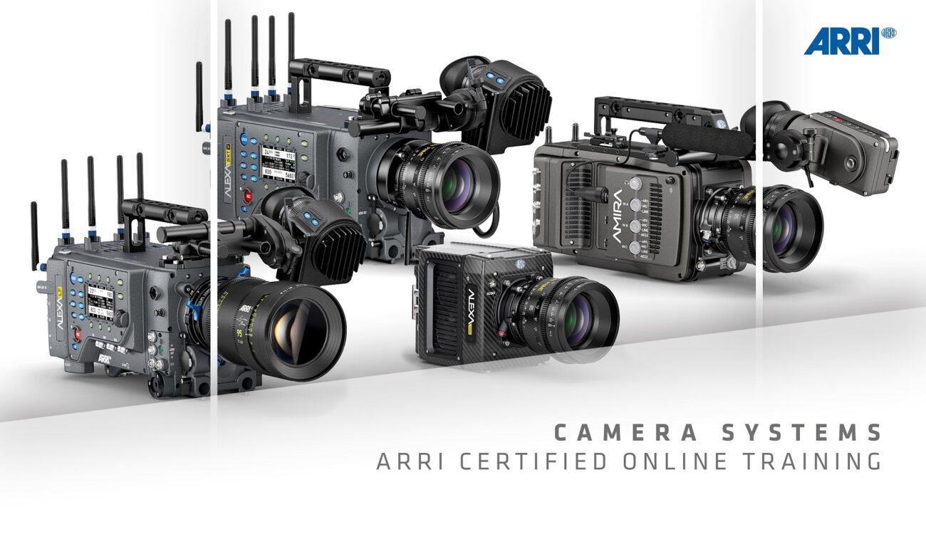 ARRI Master Classes Available for Free on MZed, Certified Courses are 25% Off