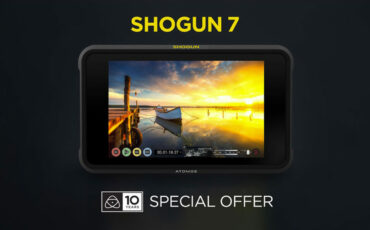 Atomos 10-Year Anniversary Promotion - Free Gifts With Every Shogun 7 Purchase