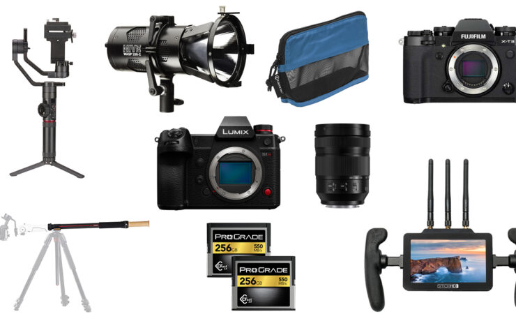 This Week's Top Deals for Filmmakers - Zhiyun Tech, SmallHD, Hive Lighting, Panasonic S1H and More