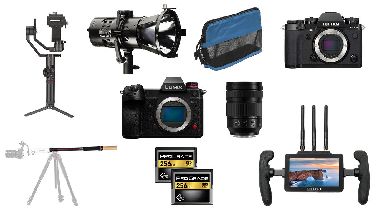 Las mejores ofertas de esta semana para cineastas: Zhiyun Tech, SmallHD, Hive Lighting, Panasonic S1H y más