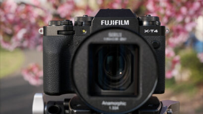 FUJIFILM X-T4 and SIRUI 50mm Anamorphic Lens - Handheld Sample Footage