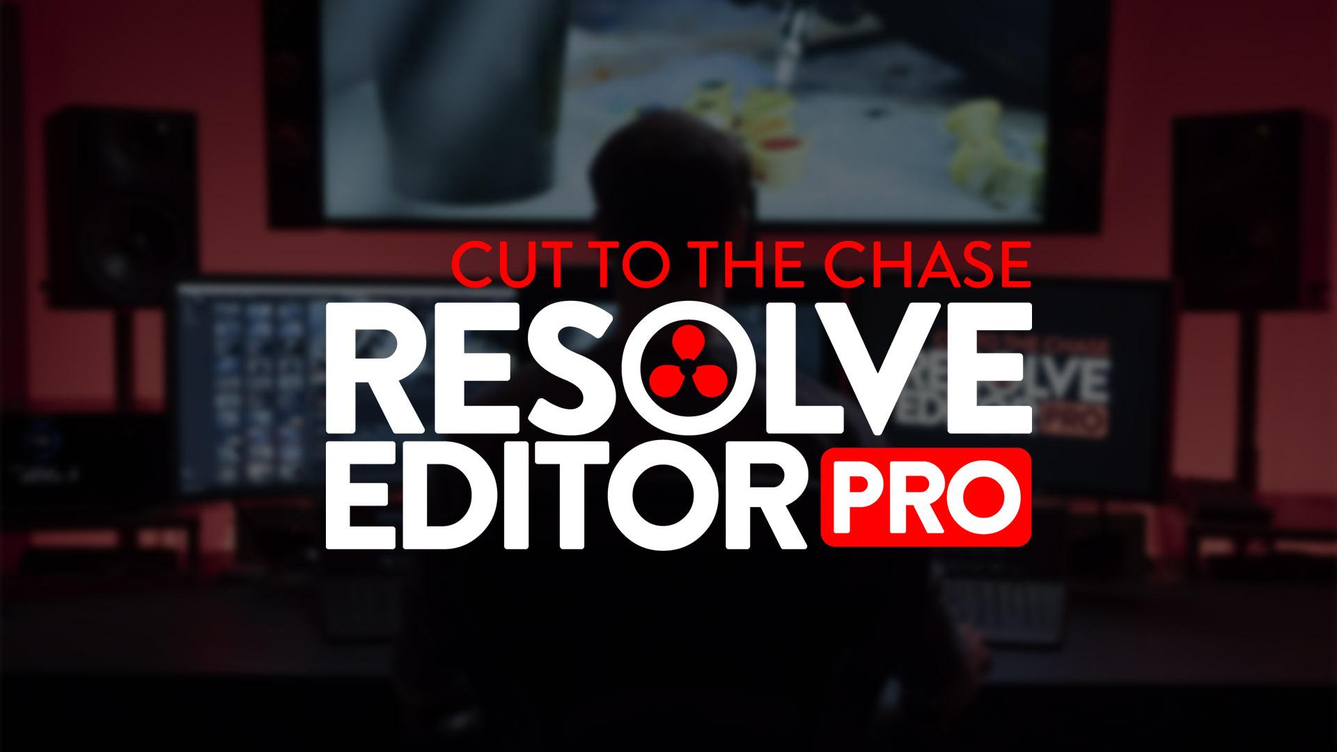 Curso en línea de Resolve Editor Pro: cámbiate fácilmente a DaVinci Resolve para editar