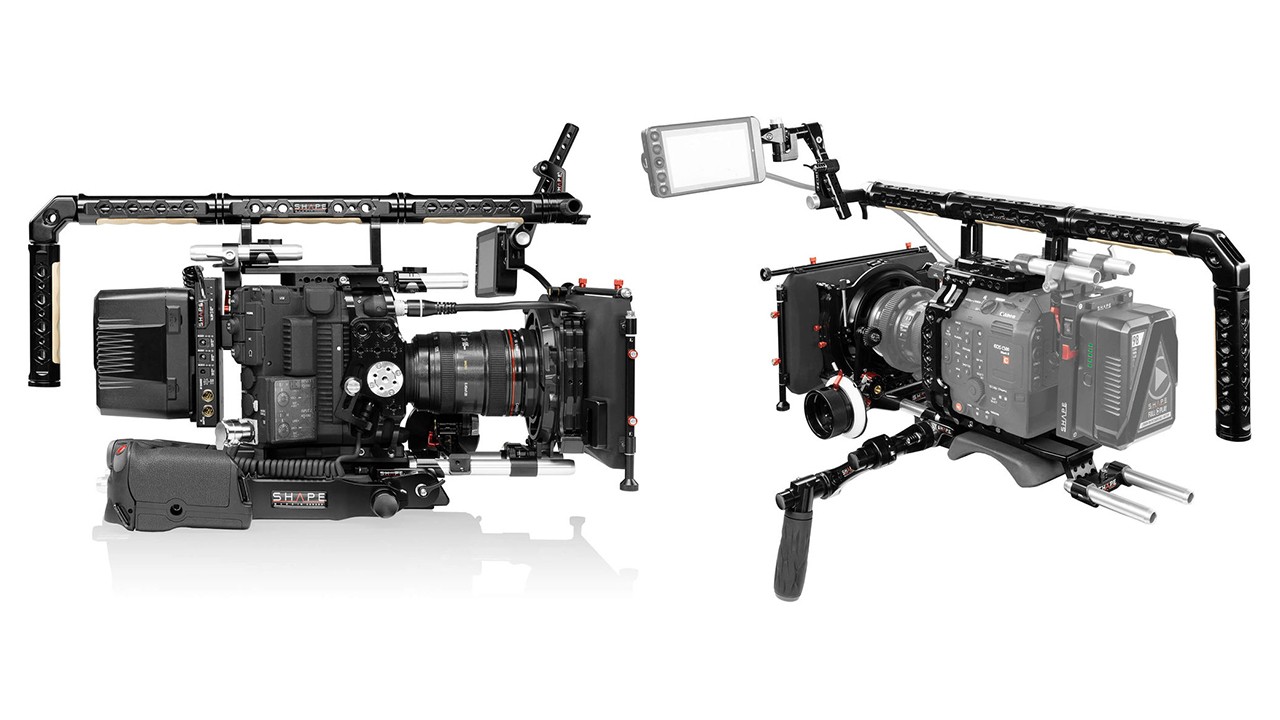 SHAPE Rigging Solution for the Canon C500 Mark II