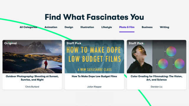 Skillshare - Find What Fascinates You - Photo & Film (Credits: Skillshare)