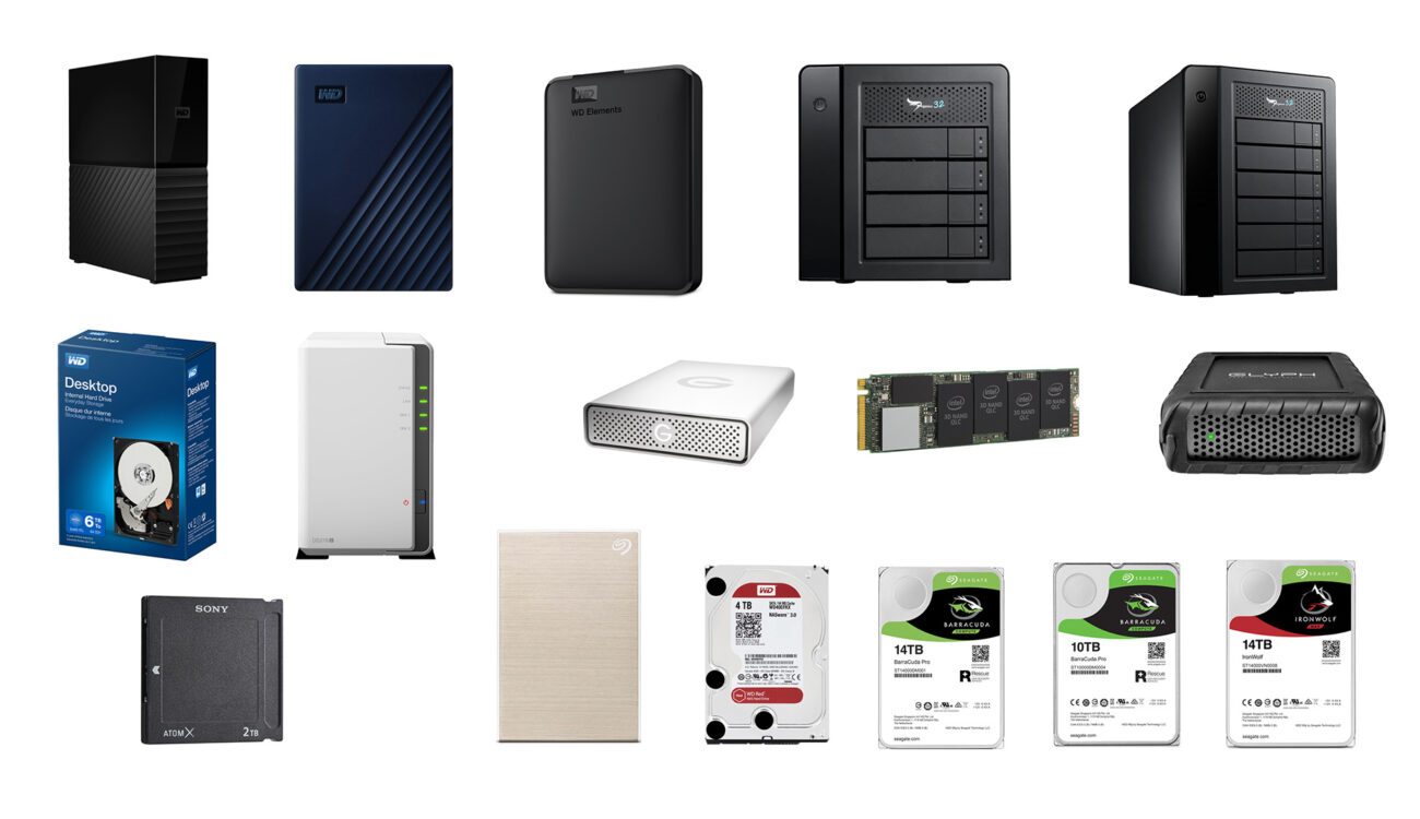 World Backup Day Deals - Top Deals on Hard Drives for March 31st Only