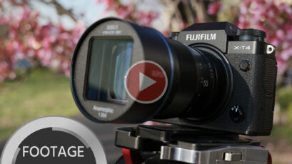 FUJIFILM X-T4 and SIRUI 50mm Anamorphic Lens - Handheld Sample Footage