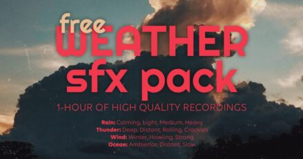 Accusonus Releases Free Weather SFX for World Meteorological Day