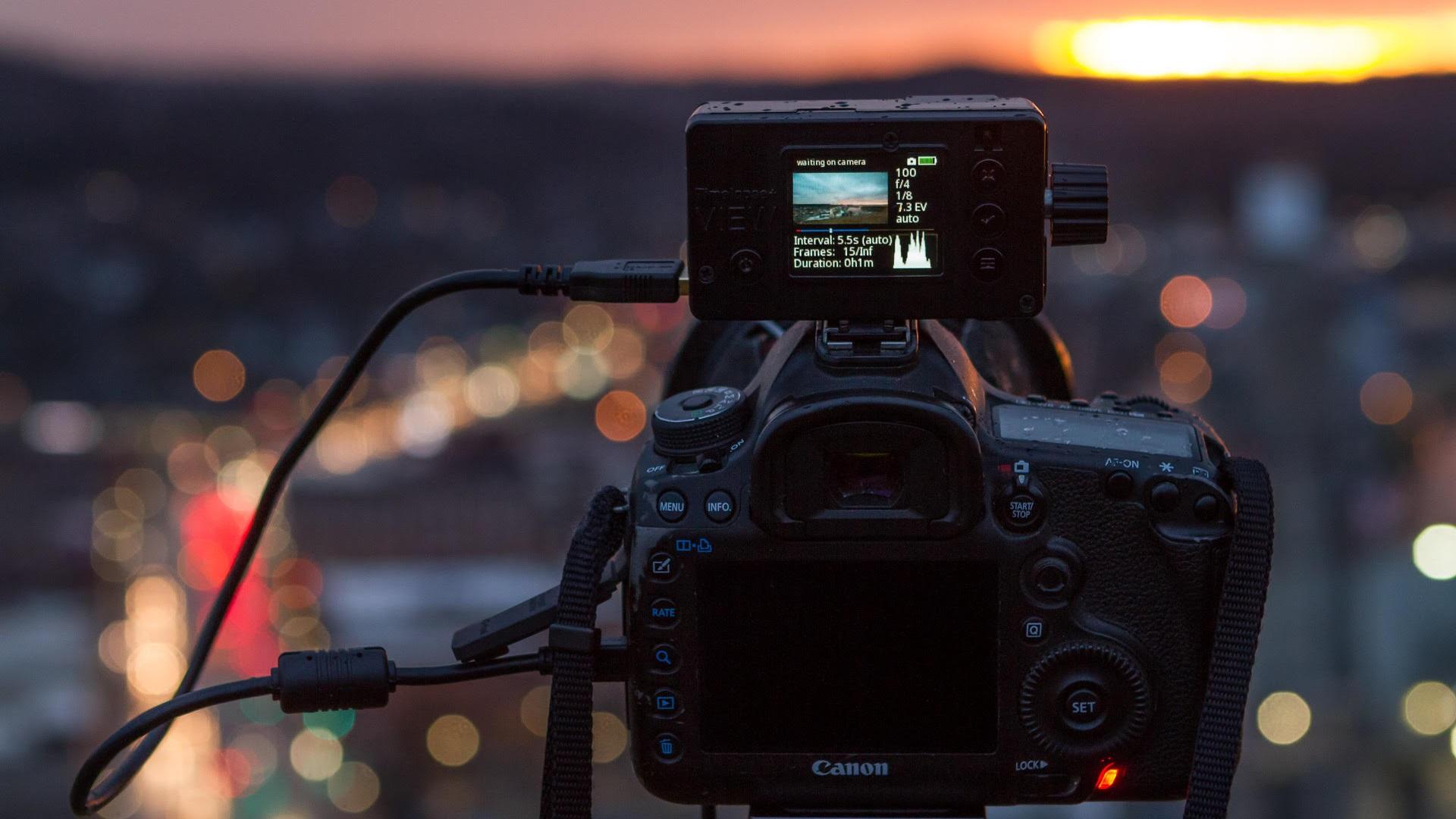 Actualización 1.8 del Timelapse+ VIEW – agrega un nuevo controlador de cámara CORE USB