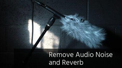 Quick Tip:オーディオノイズとリバーブを除去する