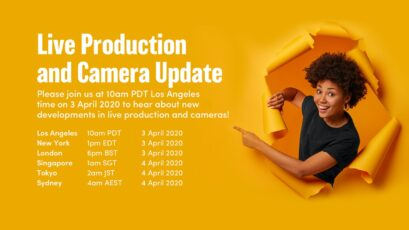 Blackmagic Design to Announce New Products on April 3, 2020