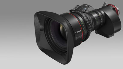 Canon Announces 25-250mm 10x CINE-SERVO Lens and Firmware Updates