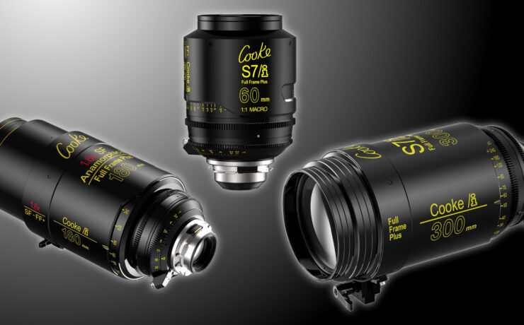 Five New Cooke Full Frame Plus S7/i and Anamorphic/i Lenses
