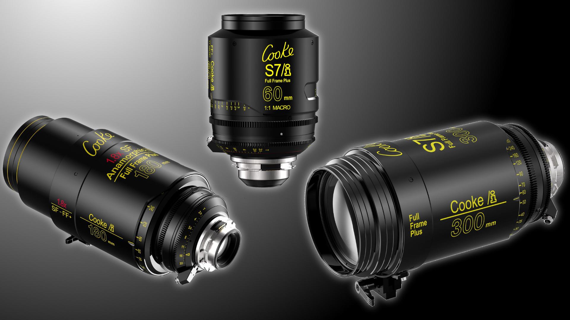 Presentan cinco nuevos lentes Full Frame Cooke Plus S7/i y Anamorphic/i