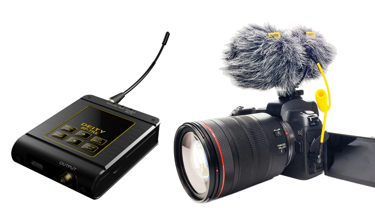 Deity BP-TRX Transceiver Recorder - D4 Duo Microphone - Deity Connect FW V2.0