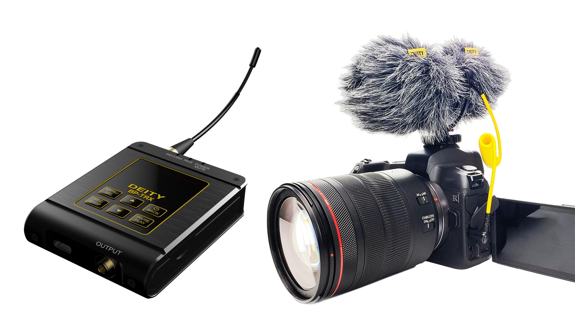 Grabador transceptor Deity BP-TRX - Micrófono D4 Duo - Deity Connect FW V2.0
