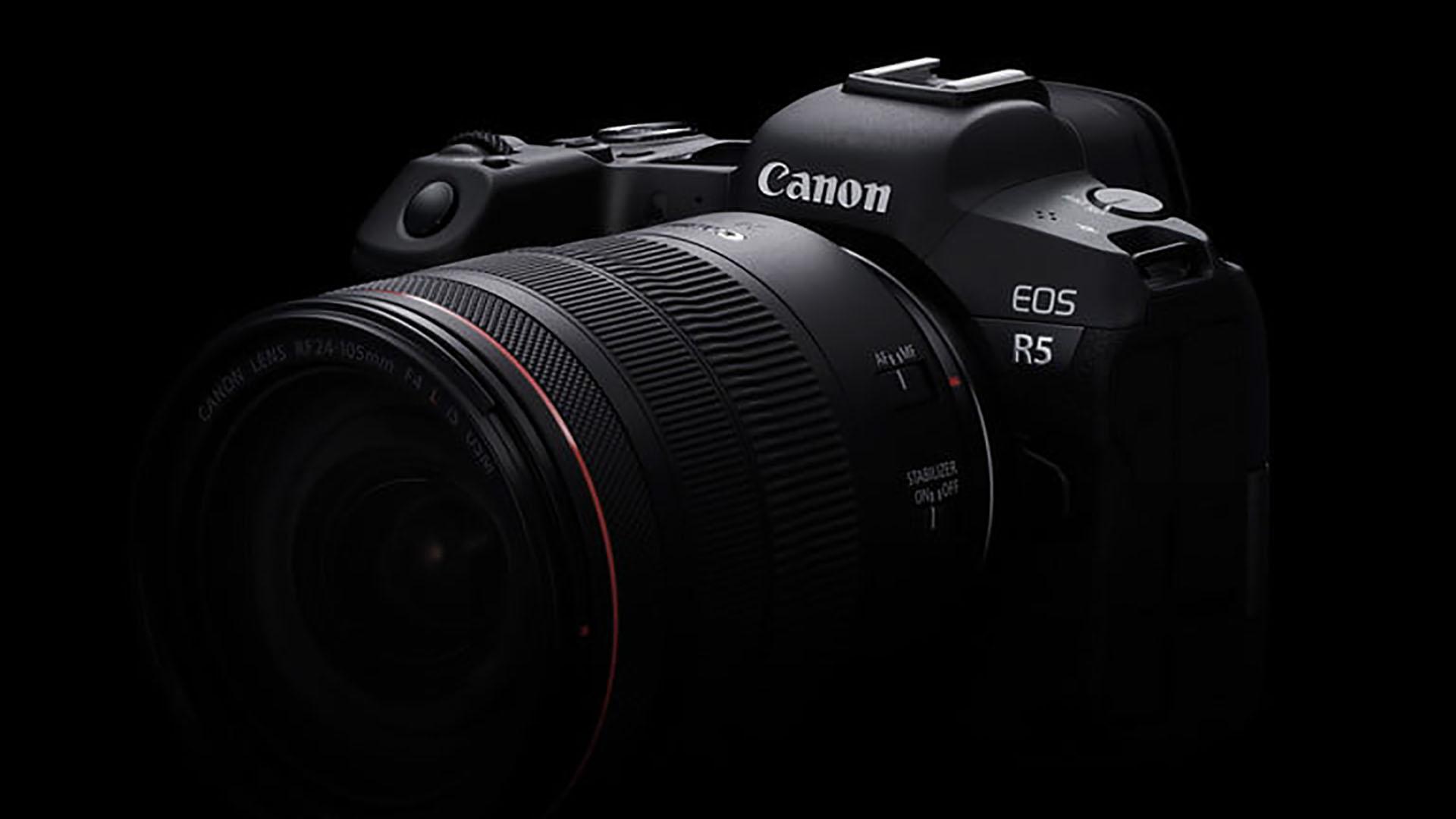 Canon EOS R5 - Importantes noticias para los cineastas