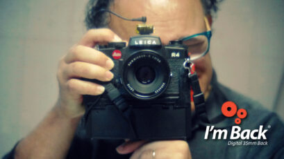 """I'm Back 35"" on Kickstarter – Digitize Your Old SLR Camera"