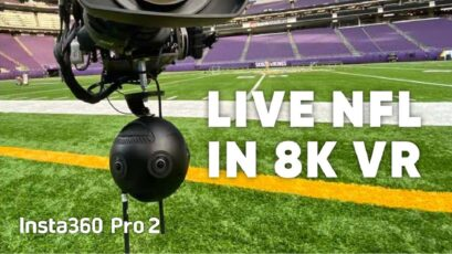 New Insta360 8K Live Streaming Software Used for 5G VR Live Stream of NFL Game