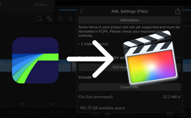 Edit on iPad and Finish on Desktop with LumaFusion FCPXML Export
