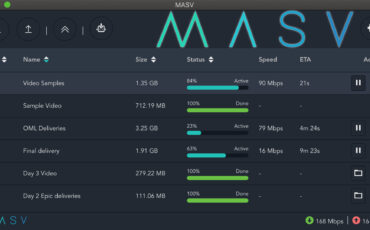 MASV Desktop App 2.0 Automates Transfer of Huge Files for Remote Teams
