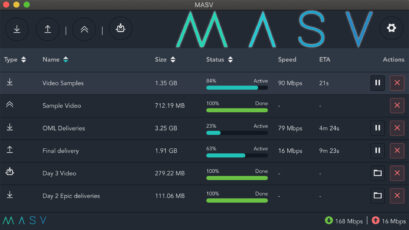 MASV Desktop App 2.0 Automates Transfer of Huge Files for Remote Teams
