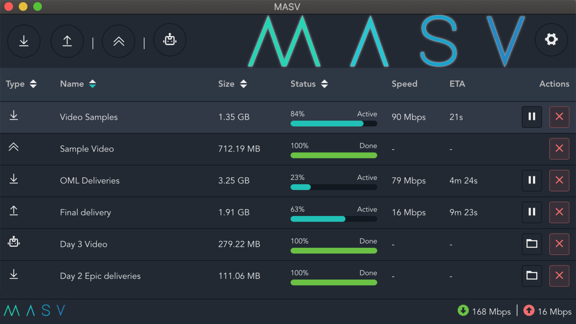 MASV 2.0 – La aplicación de escritorio que automatiza la transferencia de grandes archivos para equipos a distancia