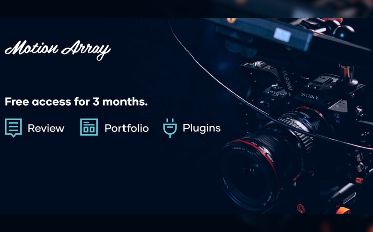 Motion Array Offers Free Premiere Pro Transitions, Video Review and Video Portfolio For 3 Months
