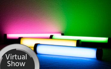 NANLITE PavoTube II 6C Announced - Full RGBWW Battery Powered Small Tube Light