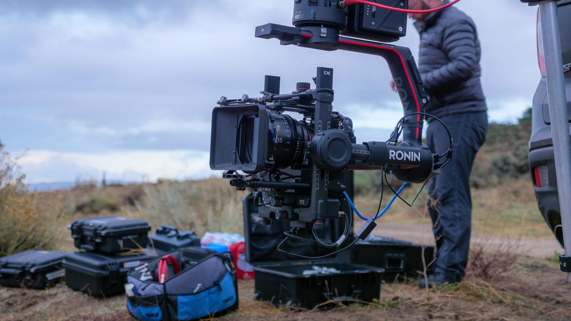 Con el foco puesto en los documentalistas: Backbone, filmada con la Panasonic S1H
