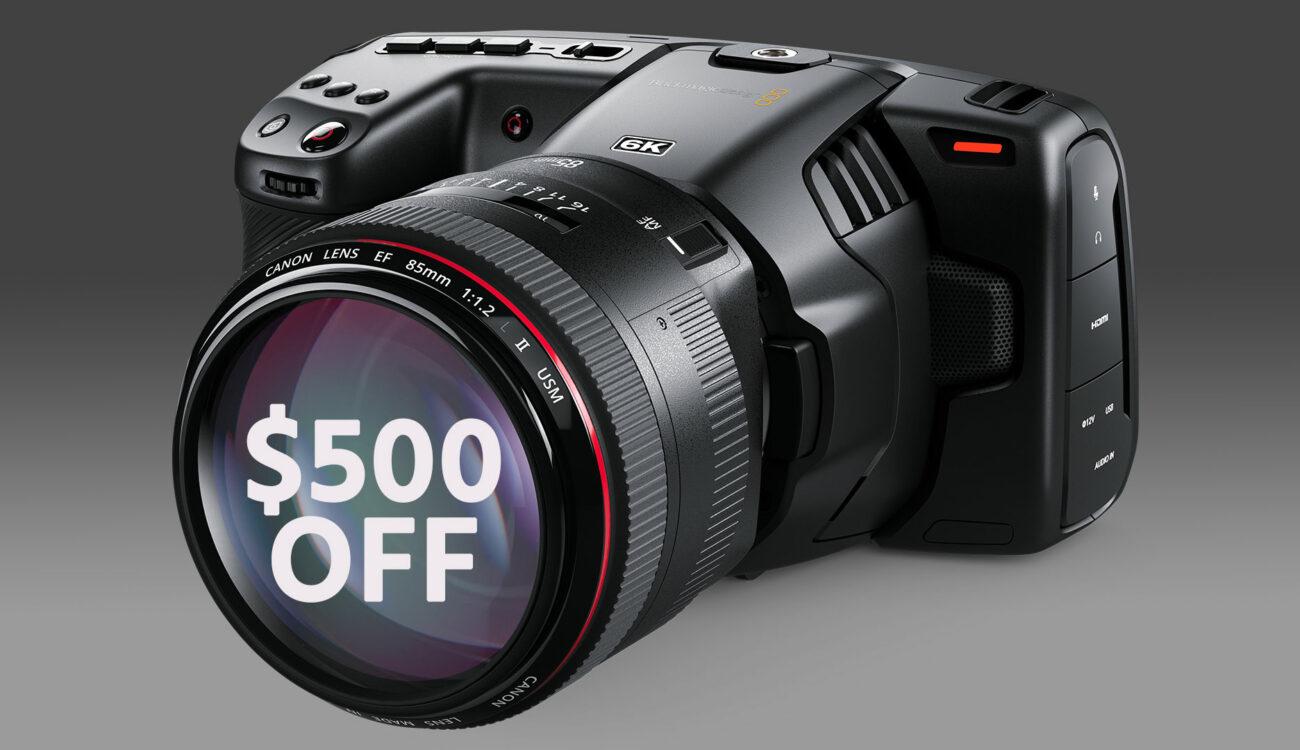 Blackmagic Pocket Cinema Camera 6k Gets 500 Price Drop Cined