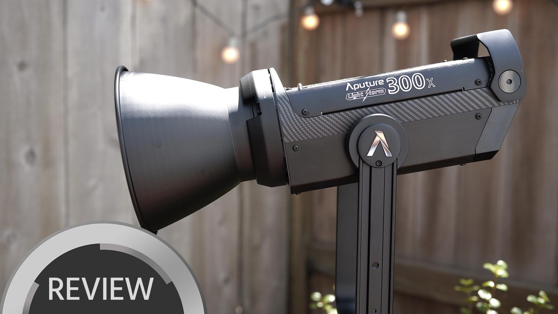 AputureのLight Storm LS300Xをテスト