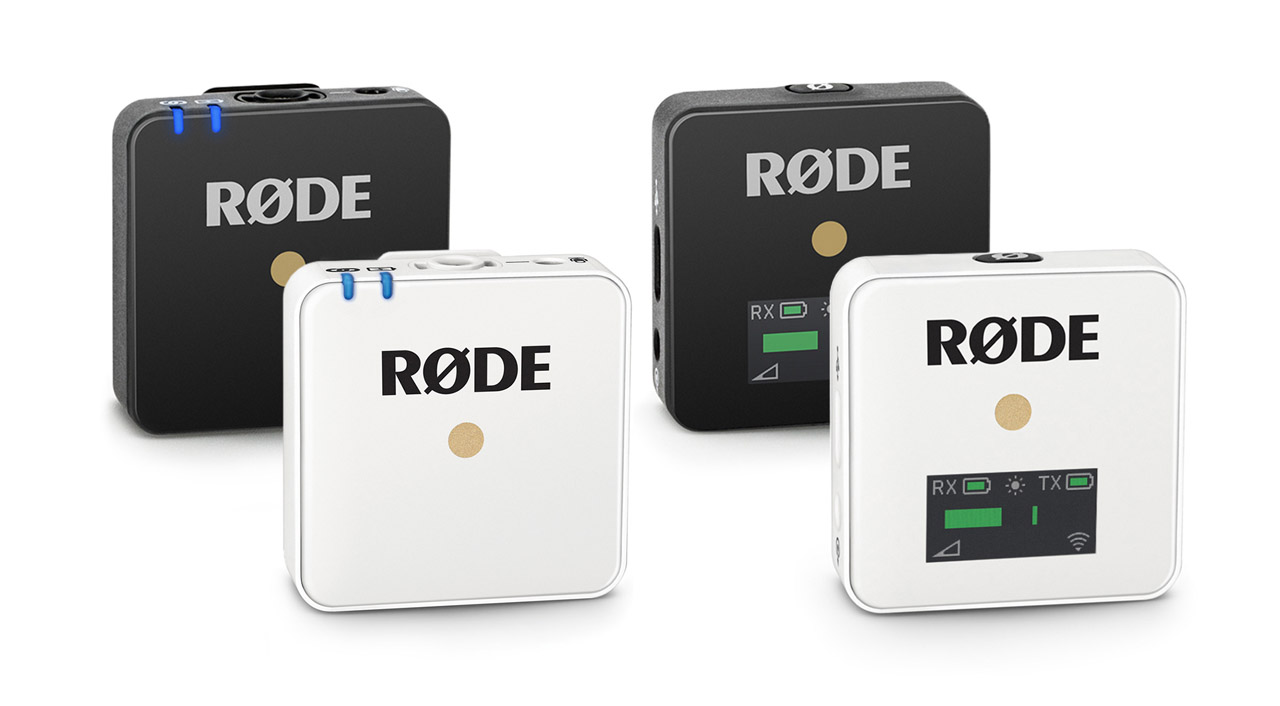 RØDE Wireless Go White Edition, Interview Mic & Magnetic Clip