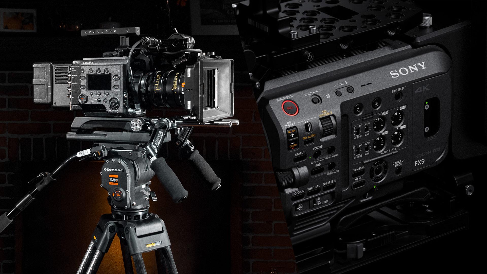 Sony anunció actualizaciones de firmware para sus cámaras full-frame FX9 y VENICE