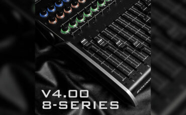 Sound Devices 8-Series v4.00 Firmware Supports the CL-16 Control Surface