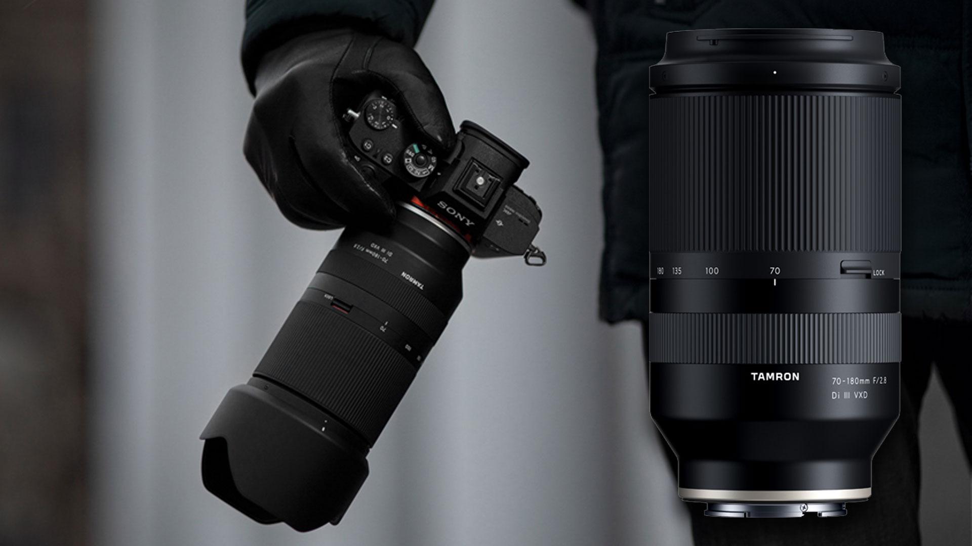 Tamron 70-180mm F/2.8 Di III VXD para Montura Sony E anunciado oficialmente