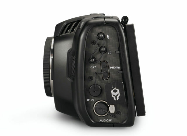Tilta BMPCC Display Modification Kit adds a new external control port.