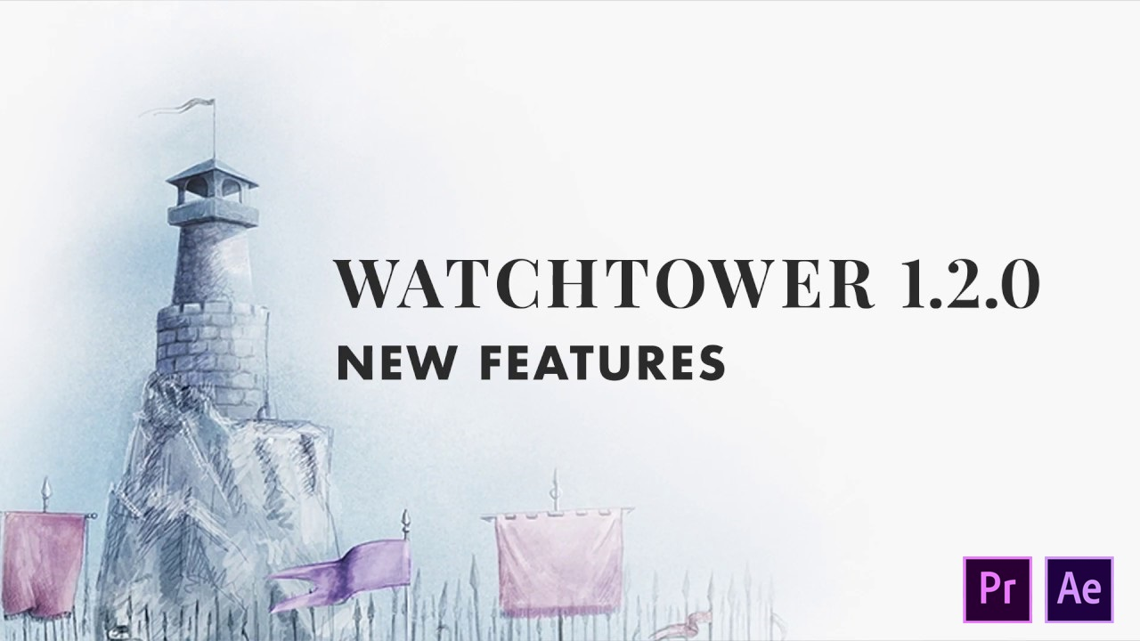 Watchtower V1.2.0 - Sincronización automática de bins de proyectos con carpetas de sistema en Premiere Pro y After Effects