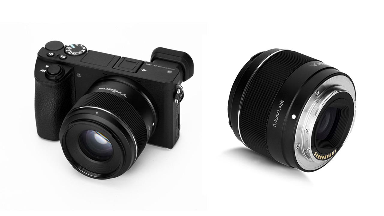 Presentan Lente Sony E-Mount Yongnuo YN50mm F1.8S DA DSM para APS-C