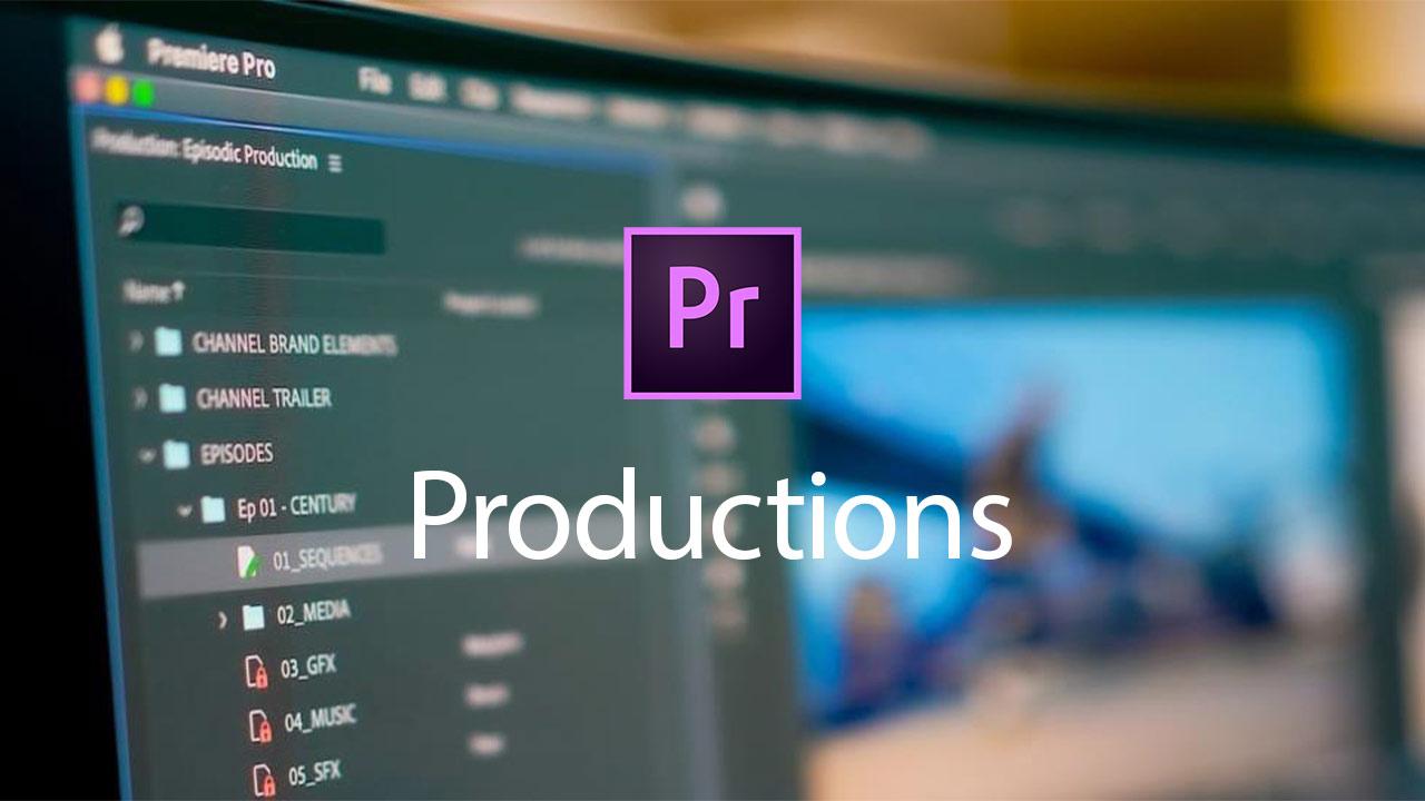 Producciones para Adobe Premiere Pro disponible - Nueva herramienta para flujos de trabajo colaborativos