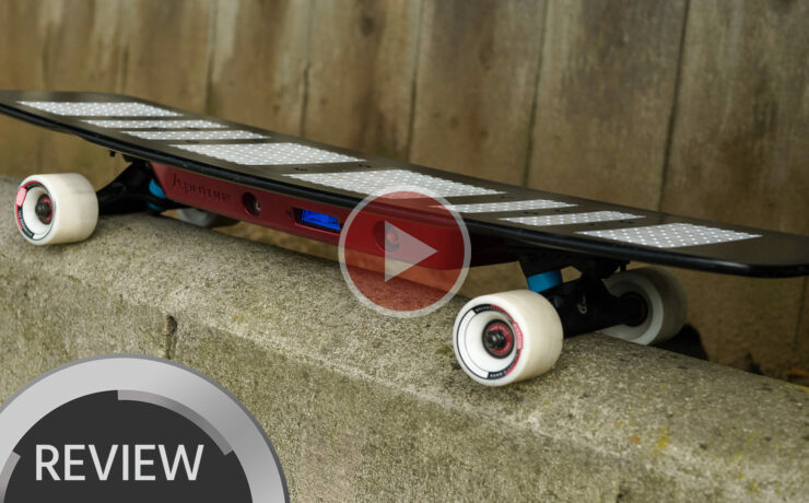 Aputure Brightboard First Look - Part Skateboard,  Part Lighting Fixture