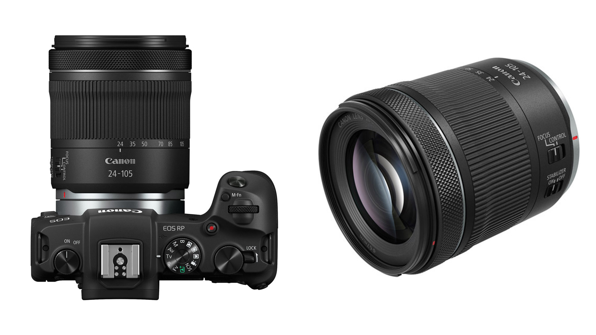 Lente kit de video con montura RF - presentan el Canon 24-105 mm F/4-7.1 IS STM