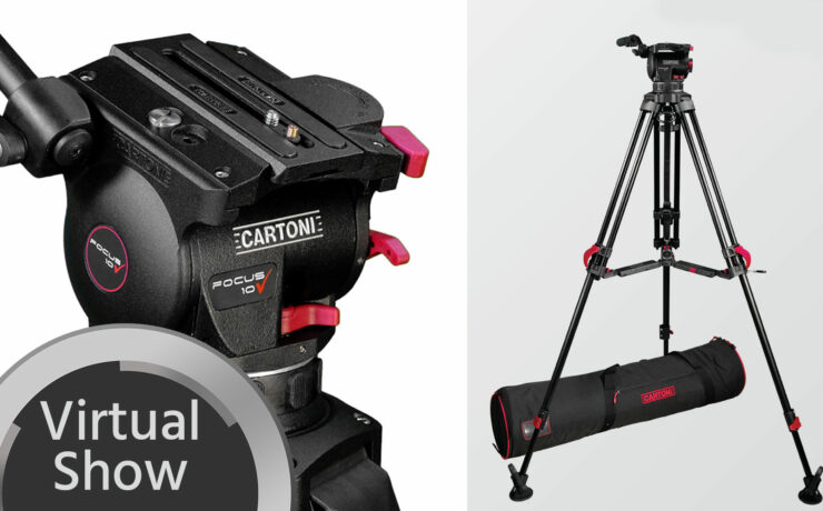 Cartoni Red Lock Tripod System - First Look & Interview