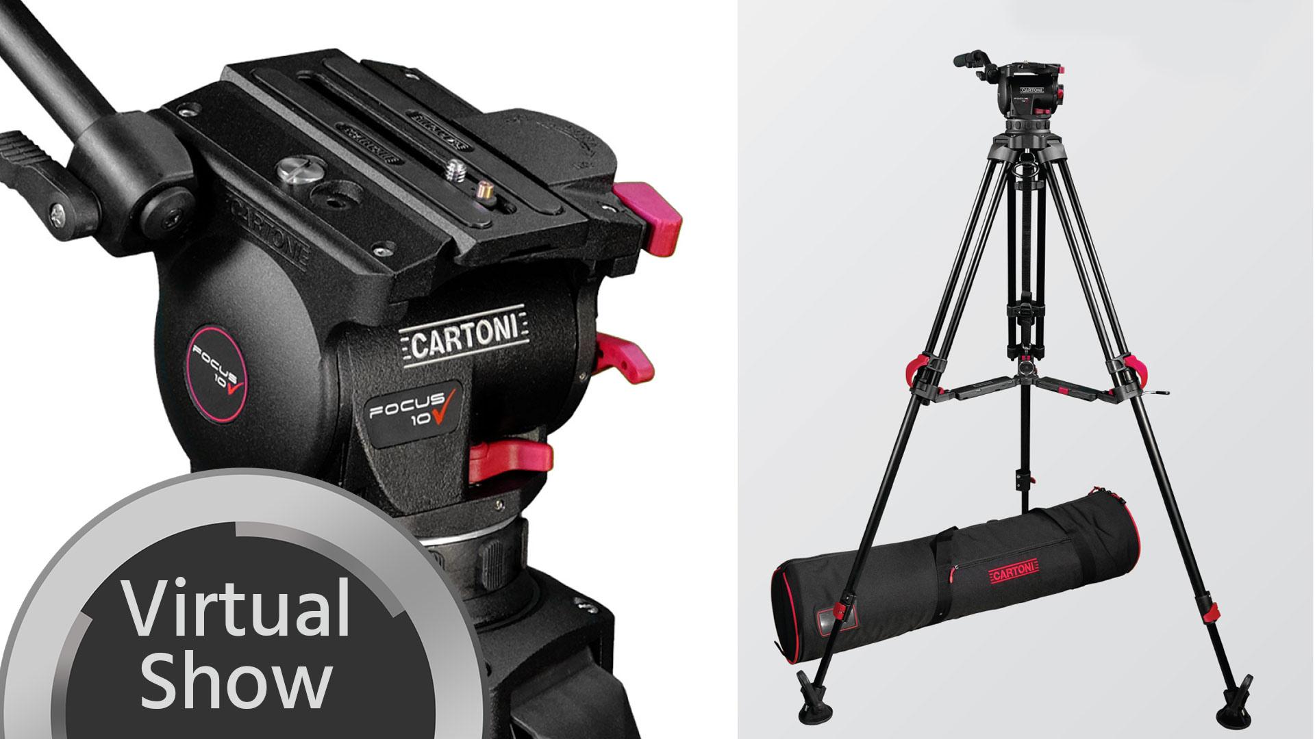 Sistema de trípode Cartoni Red Lock – Primera impresión y entrevista