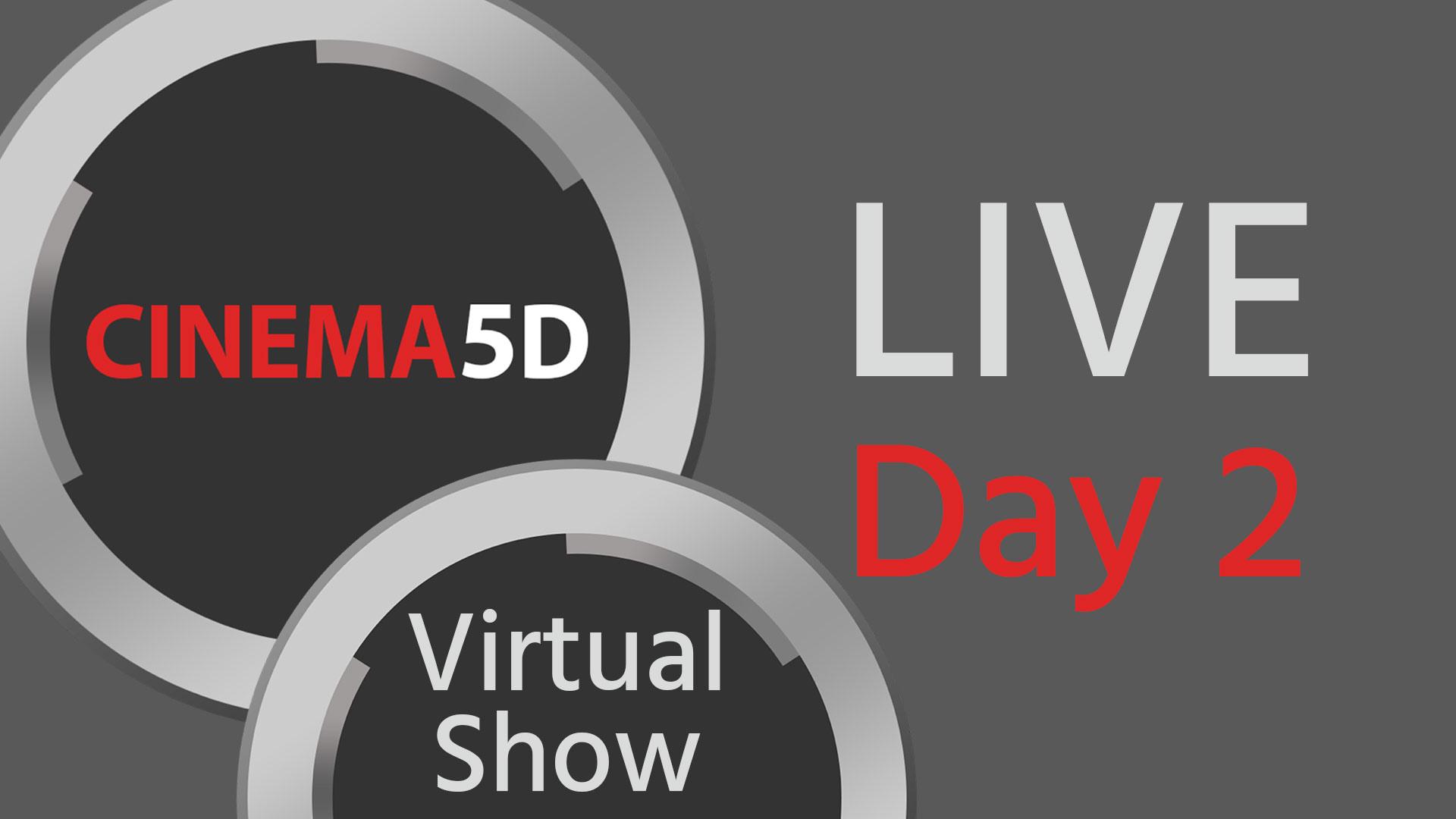 Feria Virtual de Cinema5D Día 2 - EN VIVO a las 12 pm EDT - Panasonic S1H RAW & Charlas con Cineastas