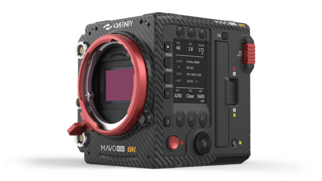 The 8K Kinefinity MAVO Edge has been announced.