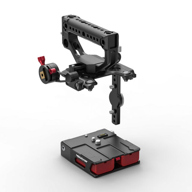 The MOVCAM KineKIT system for uninterrupted power to the MAVO Edge.