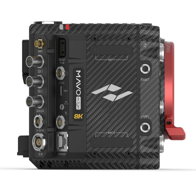 Kinefinity hasn't left many stones unturned when it comes to connectivity on the MAVO Edge.